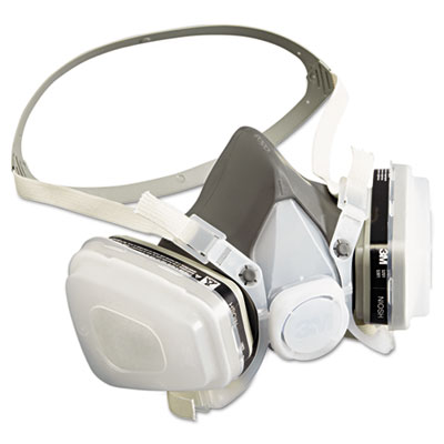 Half facepiece disposable respirator assembly, sold as 1 each