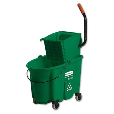 Wavebrake side-press wringer/bucket combo, 8.75 gal, green, sold as 1 each