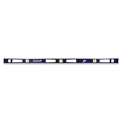 "581 series magnetic i-beam level, 48"""" long, aluminum, tri-vial, sold as 1 each"