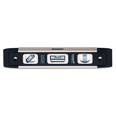 "Em81 series true blue torpedo level, 9"""" long, aluminum, tri-vial, sold as 1 each"