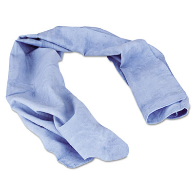 Chill-its cooling towel, blue, one size fits most, sold as 1 each
