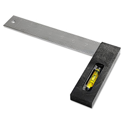"""Tri-square, 8"""""""", polysteel, leveling vial, sold as 1 each"""
