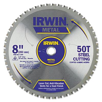 50t metal cutting saw blade, ferrous steel, 8in, sold as 1 each