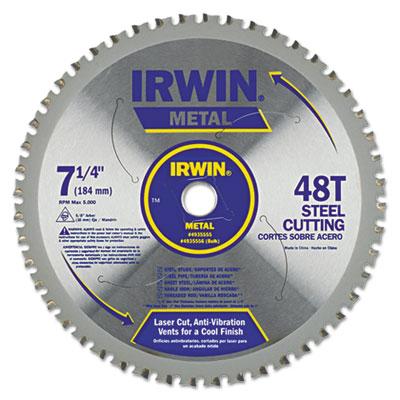 "48t metal cutting circular saw blade, ferrous steel, 7-1/4"""" diameter, sold as 1 each"
