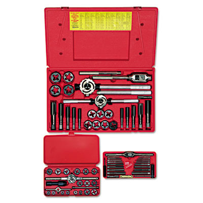 Hanson tap & die set, steel, 66 pieces, sold as 66 each