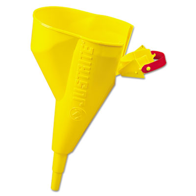 "Polyethylene funnel, type i safety cans, 1/2"""", yellow, sold as 1 each"