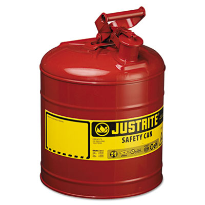 Safety can, type i, 5gal, red, sold as 1 each