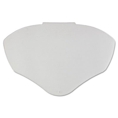 Bionic face shield visor, clear, hc/af, sold as 1 each