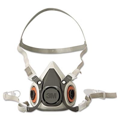 Half facepiece respirator 6000 series, reusable, small, sold as 1 each