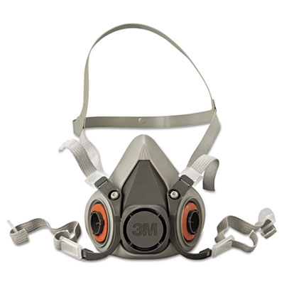 Half facepiece respirator 6000 series, reusable, medium, sold as 1 each
