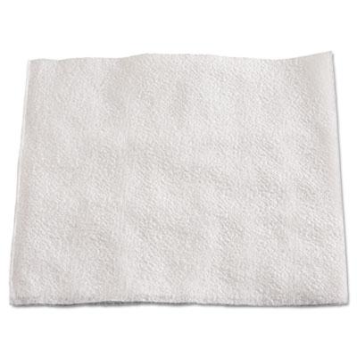 """1/4-fold lunch napkins, 1-ply, 12"""" x 12"""", white, 6000/carton, sold as 1 carton, 6000 each per carton"""