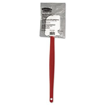 "High-heat cook's scraper, 16 1/2"", red/white, sold as 1 each"