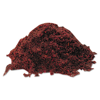 Floor sweep grit, 50lb, red, sold as 1 each