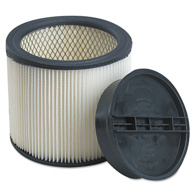 Cartridge filter, for full size wet/dry shop-vac vacuums, sold as 1 each