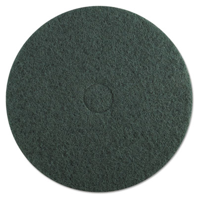 "Standard floor pads, 20"" dia, green, 5/carton, sold as 1 carton, 5 each per carton"