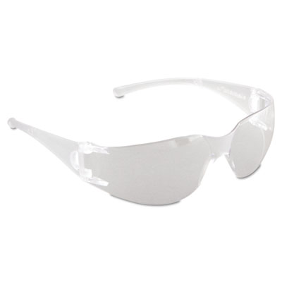 V10 element safety glasses, clear frame, clear lens, sold as 1 each