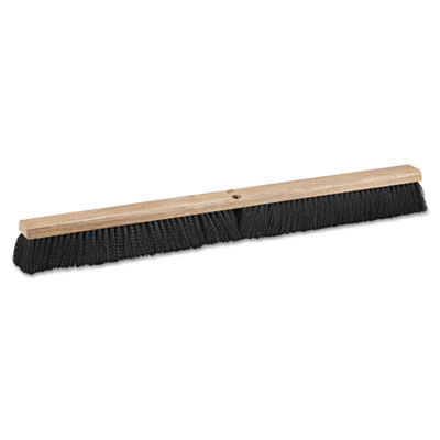 "Floor brush head, 36"" wide, polypropylene bristles, sold as 1 each"