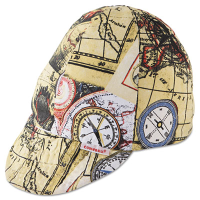 Reversible soft brim comfort crown cap, cotton, asst colors, size 7 1/4, 12/pack, sold as 1 package