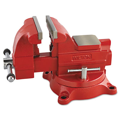 "Vise, cast iron, utility, 6"""" jaw opening, 6"""" jaw width, 62.6lbs, sold as 1 each"