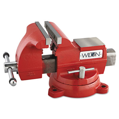 "Vise, cast iron, utility, 7 1/2"""" jaw opening, 8"""" jaw width, 86.2lbs, sold as 1 each"