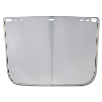 "F30 face shield window, 12"""" x 8"""", clear, unbound, sold as 1 each"