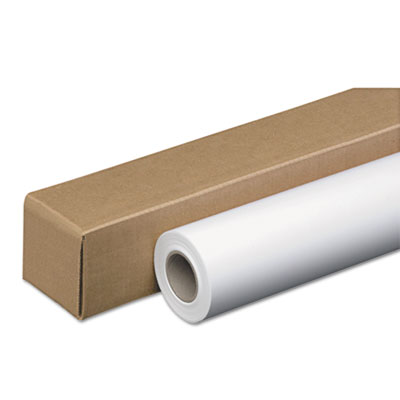"Amerigo wide-format paper, 48 lbs., 3"" core, 24"" x 100 ft, white, amerigo, sold as 1 roll"