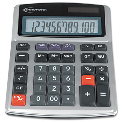 15971 large digit commercial calculator, 12-digit lcd, sold as 1 each