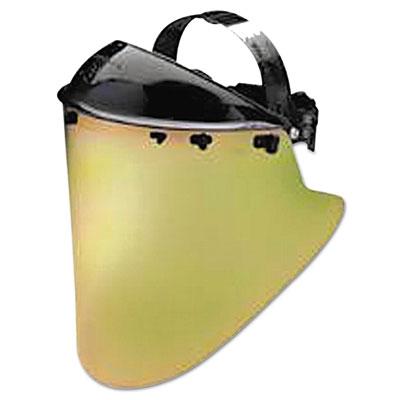 Huntsman model k face shield assembly, black, sold as 1 each