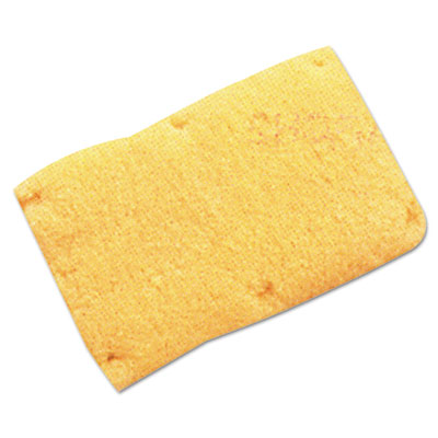 Snap-on sweatband, wool, yellow, sold as 1 each