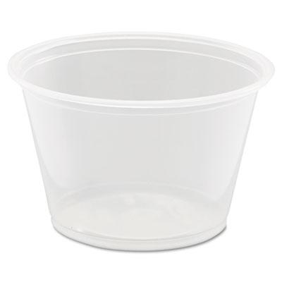 Conex complements portion/medicine cups, 4oz, clear, 125/bag, 20 bags/carton, sold as 1 carton, 2500 each per carton