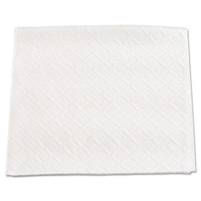 """Beverage napkins, 1-ply, 9 1/2"""" x 9"""", white, 4000/carton, sold as 1 carton, 4000 each per carton"""