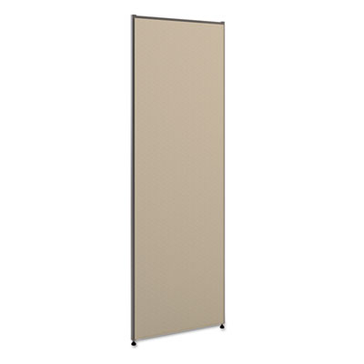 Vers? office panel, 24w x 72h, gray, sold as 1 each