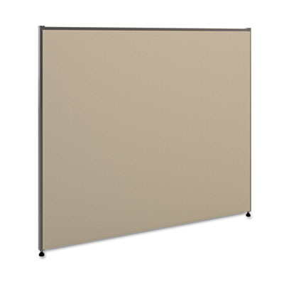 Vers? office panel, 48w x 42h, gray, sold as 1 each