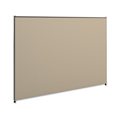 Vers? office panel, 60w x 42h, gray, sold as 1 each