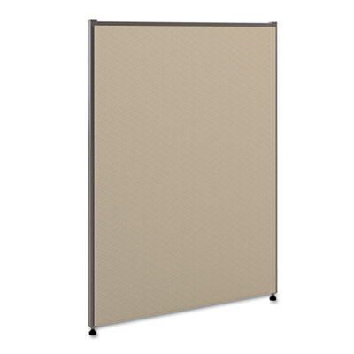Vers? office panel, 30w x 42h, gray, sold as 1 each