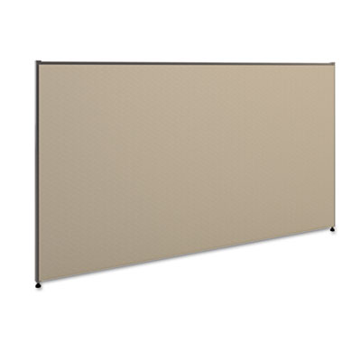 Vers? office panel, 72w x 42h, gray, sold as 1 each