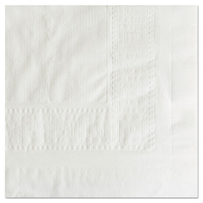 "Cellutex tablecover, tissue/poly lined, 54 in x 108"", white, 25/carton, sold as 1 carton, 25 each per carton"