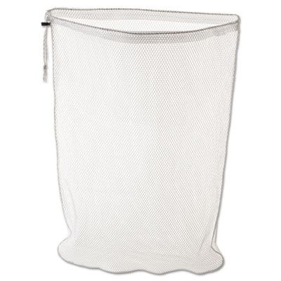Laundry net, 24w x 24d x 36h, synthetic fabric, white, sold as 1 each