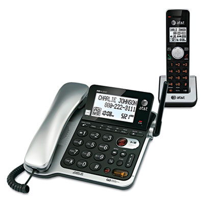 Cl84102 dect 6.0 corded/cordless telephone answering system, sold as 1 each