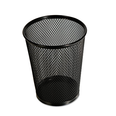 Jumbo mesh pencil cup, black, sold as 1 each