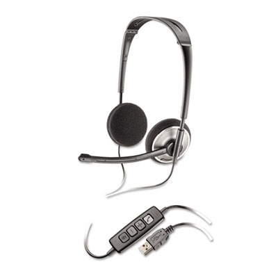 Audio 478 binaural over-the-head corded headset, sold as 1 each