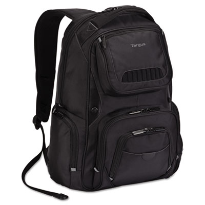 Legend iq backpack, 12-6/10 x 10-1/2 x 18-3/10, black, sold as 1 each