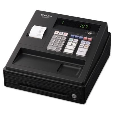 Xe a107 cash register, drum printer, 80 lookups, 4 clerks, led, sold as 1 each