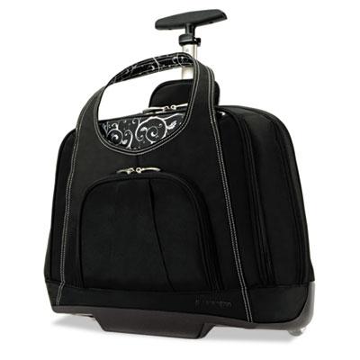 Contour balance rolling netbook case,18w x 9d x 13-1/2h, black, sold as 1 each
