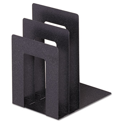 Soho bookend with squared corners, 5?w x 7?d x 8?h, granite, sold as 1 each