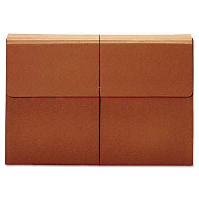 Expanding wallet, 3 1/2 inch expansion, 12 x 18, brown, sold as 1 each