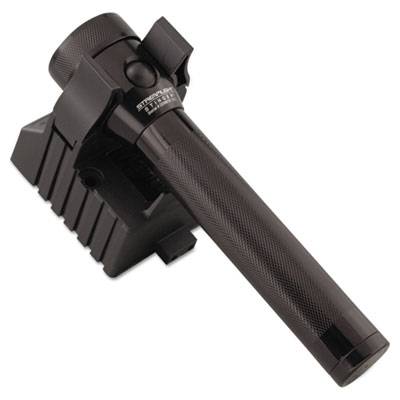 Stinger rechargeable flashlight, 3.6v nicad, 120v ac/dc charger, black, sold as 1 each