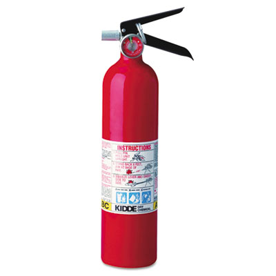 Proline pro 2.5 multi-purpose dry chemical fire extinguisher, 4.2lb, 1-a, 10-b:c, sold as 1 each