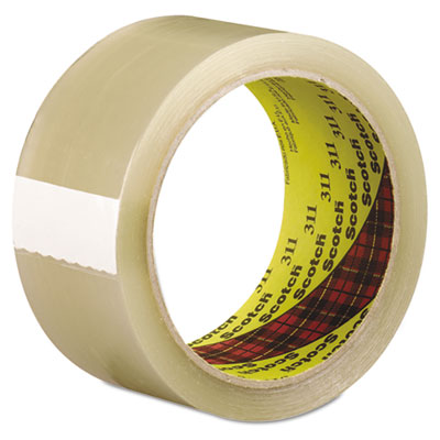 Scotch 311 box sealing tape, clear, 48mm x 100m, sold as 1 roll