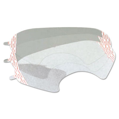 6000 series full-facepiece respirator-mask faceshield cover, clear, sold as 25 each